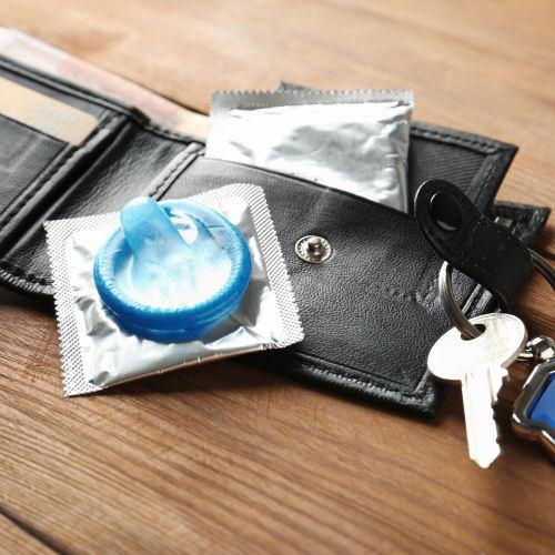 Zu enges kondom